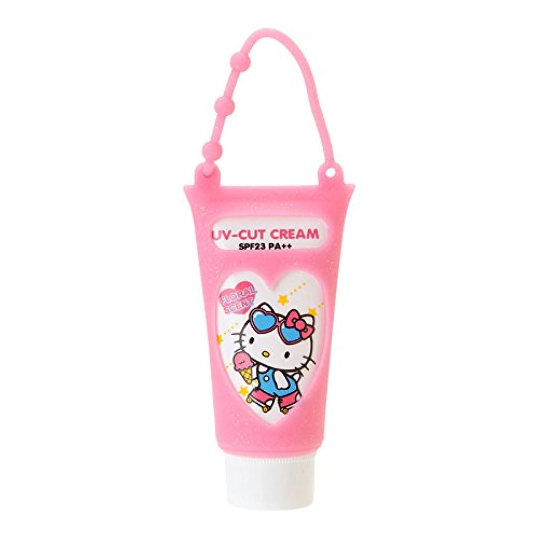 放牧する紛争誓うハローキティ 携帯UVクリーム(フローラルの香り)