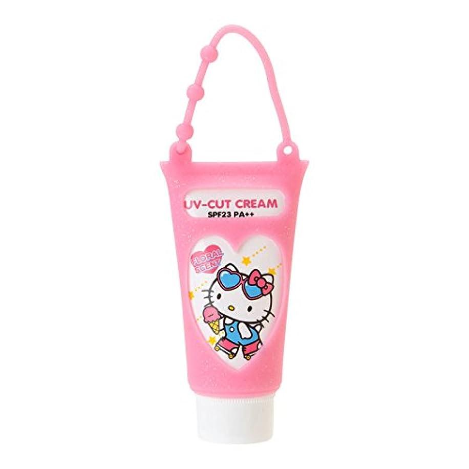 せせらぎ汚染する迫害するハローキティ 携帯UVクリーム(フローラルの香り)