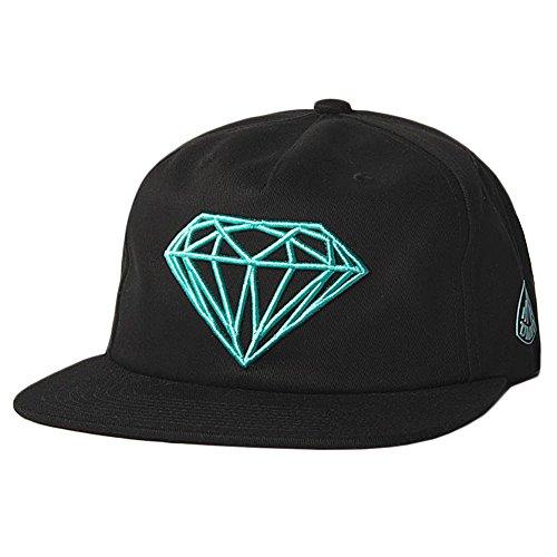 Diamond Supply Co. Men's Brilliant Snapback Hat Black