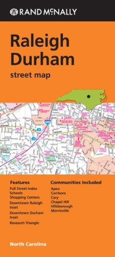 Rand Mcnally Raleigh Durham Street Map