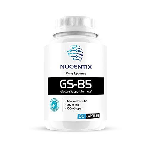 Nucentix GS-85 Glucose Support Formula - 30 Capsules