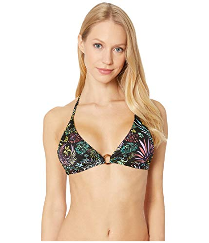 VILEBREQUIN Top de Bikini Que se anuda al Cuello con Estampado Evening Birds para Mujer - Negro - M