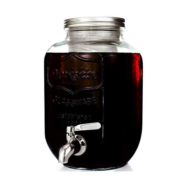Cold Brew Coffee Maker - Glass Pitcher (1 Gallon)
