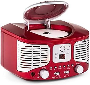 Auna Rcd 320 Cd Radio Stereoanlage Nostalgie Elektronik