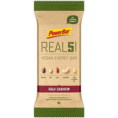 Powerbar Real 5 Energy Bar 65g vegan