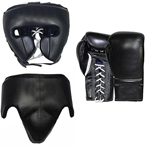 Juego de guantes de boxeo personalizados con nombre o logoti