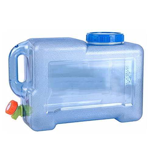 ZHANGXJ Contenedor con Grifo, Portátil Cámping Senderismo Cubo de Agua Almacenamiento Bebiendo Agua Botella Cubeta Exterior (Size : 25L/49.5cm X 26cm X 26.6cm)