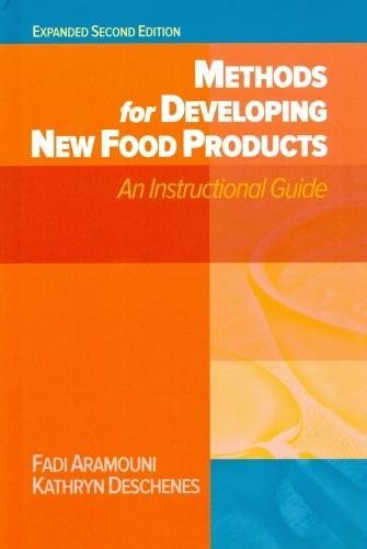Methods for Developing New Food Products Expanded Second Edition