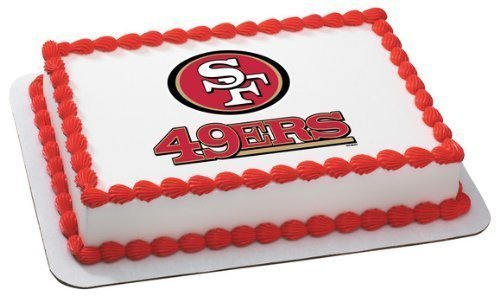 1 X NFL San Francisco 49ers ~ Edible Cake Image Topper by DecoPac