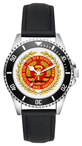 Geschenk für Ostalgie DDR NVA Fans Uhr L-1166