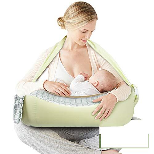 GOUO@ Coussin d'allaitement en tissu doux s'adapte parfaitement aux coussins d'allaitement pour nouveau-né anti-émétique tampon de lait pour bébés nourrissant une chaise longue pour bébé avec une ba