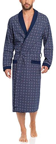 Timone Bata Larga Vestidos de Casa Hombre N1TH1N (Azul Oscuro, S)
