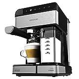 Cecotec Machine à café Semi-automatique Power Instant-ccino 20 Touch Serie Nera. 20 bars de Pression, 1.4 L, 6 Fonctions , Chauffage par Thermoblock, Contrôle tactile , Réservoir de lait, 1350 W.