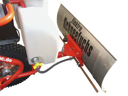 POWERPAC vloeibaar dehydratiemiddel container 13ltr. en sproei-inrichting geschikt voor elektrische sneeuwschuimer ES230 incl. adapter – accusneeuwschuiver sneeuwveld.