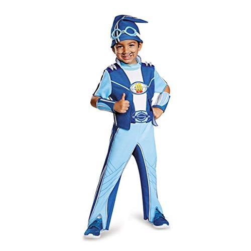 Nickelodeon's LazyTown Sportacus Deluxe Toddler Costume Medium 3-4T