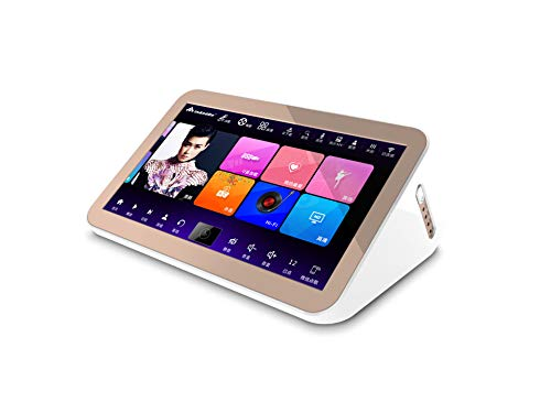 InAndOn V5 Smart Karaoke Player [6T ],Capacitive Touch Screen, Desktop Type, Easy to Carry, 15.6 inches, Cloud Song Update, Android, English, Traditional Chinese, 110Vsupport.