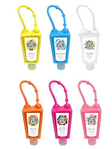 Bada Bing 6er Set Hygiene Handgel für unterwegs 30ml 6 unterschiedliche Duftrichtungen Gel Hygienegel 33