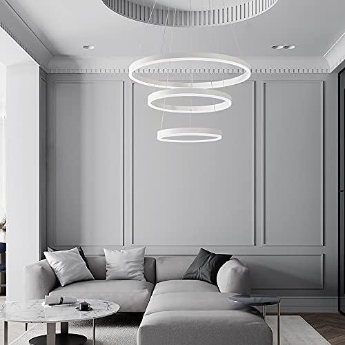 lampadario a sospensione a 3 luci Moderna lampada a sospensione a LED