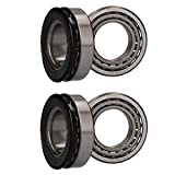 2 x Wheel Bearing Kit for Braked Indespension Boat Trailers Single Axle