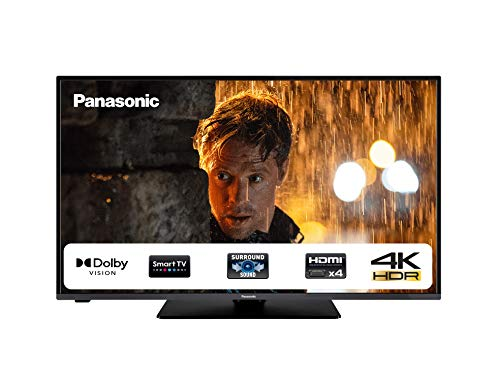 "Panasonic 50HX580 Smart Tv 50"" LED 4K Ultra HD, 4K Studio Colour Engine, Dolby Vision, 4K HDR Triple Tuner, Wi-Fi Integrato, Compatibilità Netflix"