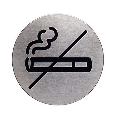 DURABLE pictogram PICTO 491123 roken NEE metallic zilver