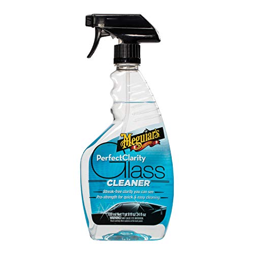 24oz Meguiar's Perfect Clarity Glass Cleaner  $4.11 at Amazon
