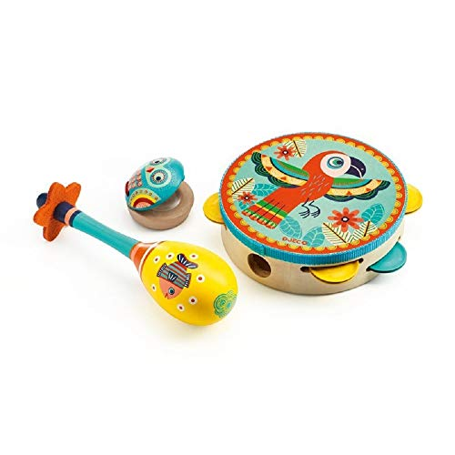 Set of 3 Instruments from Djeco