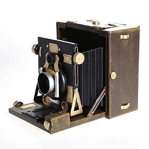 Xinyexinwang Cámara Vintage Retro Modelo 1900 cámara Antigua Modelo Antiguo Objeto Adornos fotografía Antigua