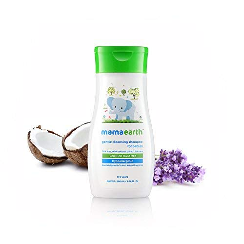 Mamaearth Gentle Cleansing Shampoo for Babies (200 ml)