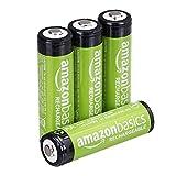 AmazonBasics Vorgeladene Ni-MH AA-Akkus - Akkubatterien 4 Stck