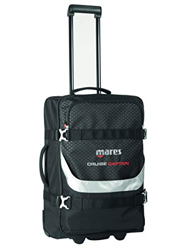 Mares Cruise Captain Trolley Bag, Black
