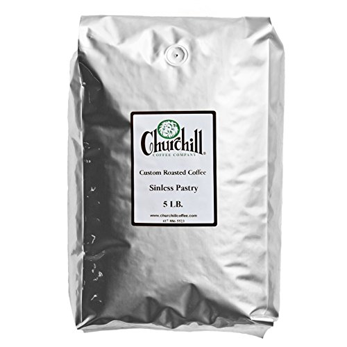 Churchill Coffee Sinless Pastry 5 lb - Whole Bean