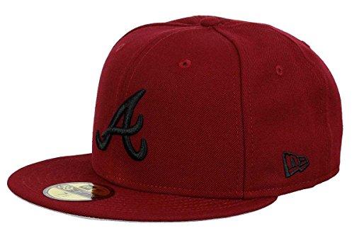 New Era Atlanta Braves 59fifty Basecap Cardinal Collection Red - 7 1/4-58cm