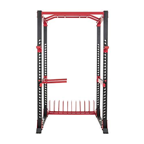 Lifeline C1 Pro Power Squat Rack System for Weight Training and Body Building