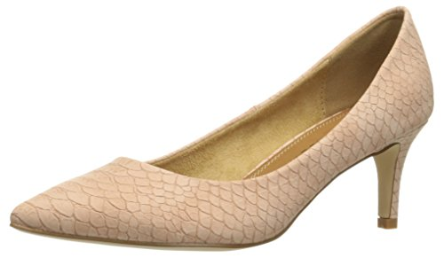 Athena Alexander Women's Tikaa Dress Pump, Pink Crocodile, 5 M US