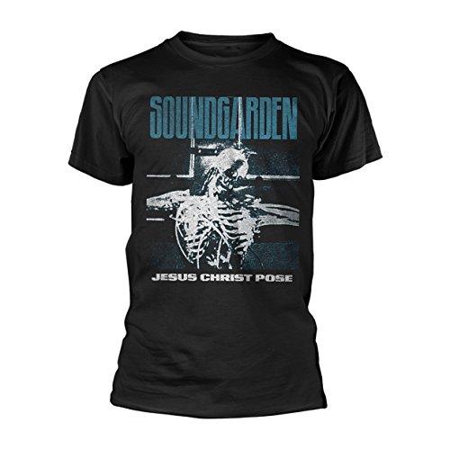 Soundgarden Jesus Christ Pose Chris Cornell oficial Camiseta para hombre (XX-Large)
