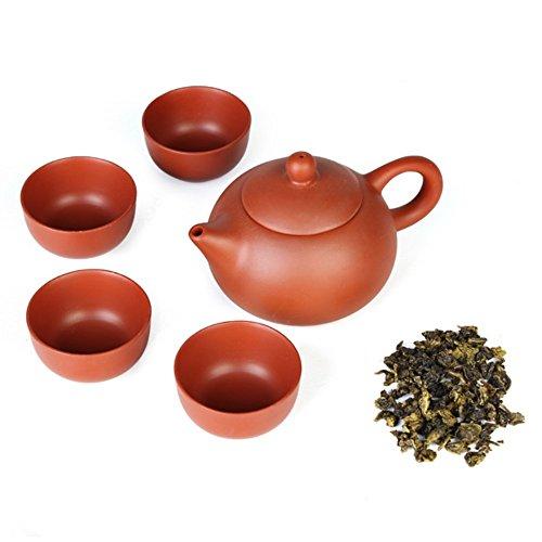 Lida/ /120/ml Jiang su Yi Xing Zi Sha Gaiwan Tea Set teiera Viola Argilla Tea Cup Red