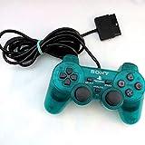 PS2 DualShock 2 Controller - Emerald (Renewed)