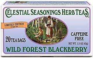 Celestial Seasonings Herbal Tea, Wild Forest Blackberry, 20 Count (Pack of 2)