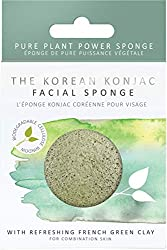 The Authentic Korean Beauty Tool that is deal for combination & oily t-zone skin This beauty sponge tightens pores, tones the complexion & revitalises damaged skin The sponge naturally draws out impurities and toxins to reveal a smoother, fresher com...