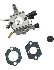 Tubayia Carburador de repuesto con junta para Stihl FS120 FS120R FS200 FS200R FS020 FS202 TS200 FS250 FS250R FS300 FS350 FS380