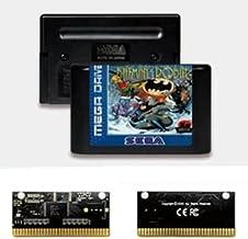 Yuva Adventures Of Batmans & Robin EUR Label Flashkit MD Carte PCB en or autocatalytique pour Console de jeu vidéo Sega Ge...