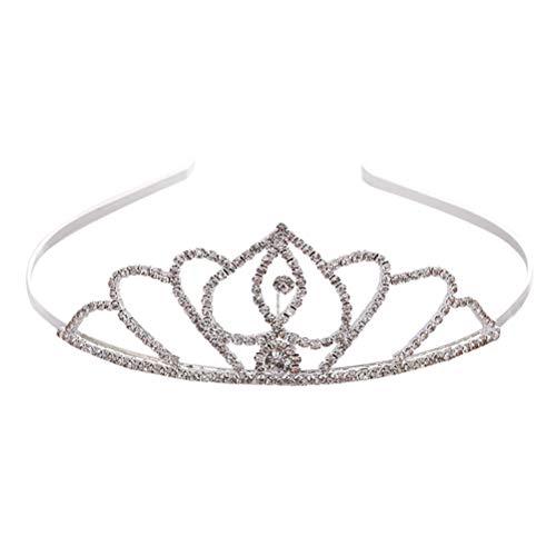 Couronne de cristal de mariée Cerceau élégant pour cheveux Noble Hairband Accessoires de cheveux de mariage