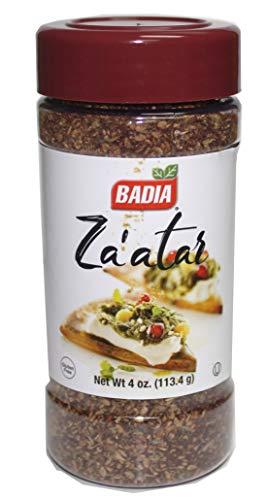 Badia Zaatar Mediterranean Seasoning Za'atar 4 oz Kosher GF