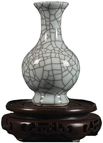 Vase Crackle Glasierte Vasen, Antike Vasen, Alte Waren Kunsthandwerk Für Die Dekoration Hochzeit, 6.1 ''