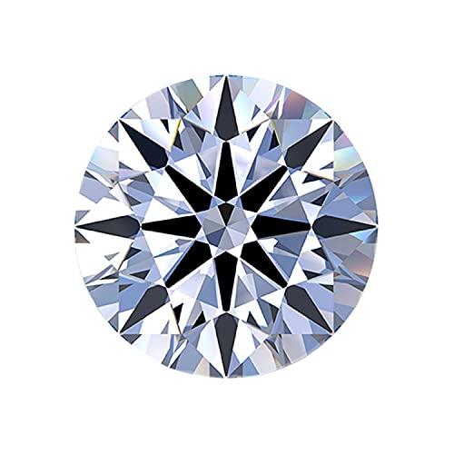 letmexc Super White Top D+ Colorless Moissanite Gemstone Lab Diamond...