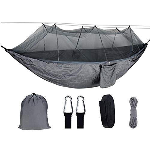 Outdoor portatile camouflage amaca rete anti-zanzara letto per dormire estate mobili altalena cortile-5.