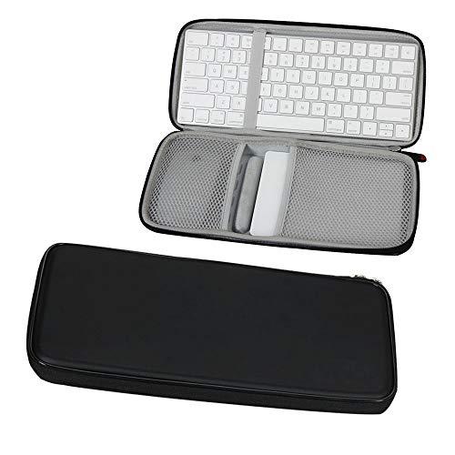 Für Apple Magic Tastatur MLA22LL/A Bluetooth + Trackpad 2 MJ2R2LL/A + Maus Hart EVA Tasche Schutz hülle Etui Tragetasche Beutel von Hermitshell
