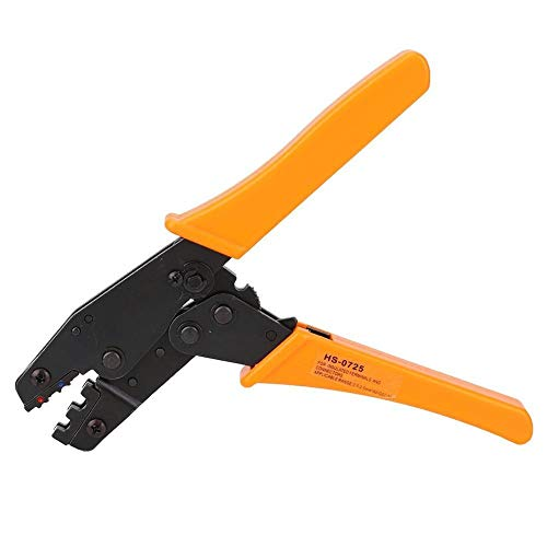 Alicates - HS-0725 Alicates prensa terminal pre-aislado trinquete Arrugador de 0,5 2,5 mm² prensado en frío ajustable de trinquete Herramienta de mano Alicates