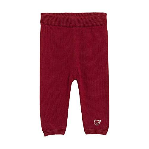 Steiff Jogginghose Pantalon De Sport, Rouge (Beet Red 4010), 62 Bébé Fille